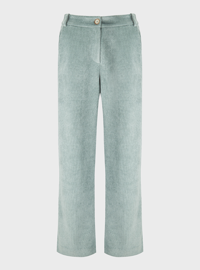 Washed Corduroy Pants Mint