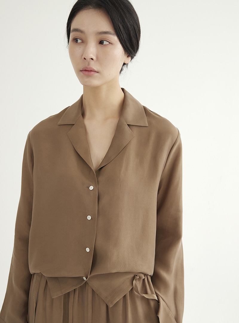 Shirt Jacket Brown